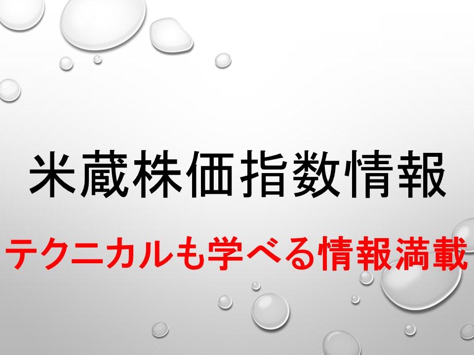 くりっく株365:日経225の60分足分析!