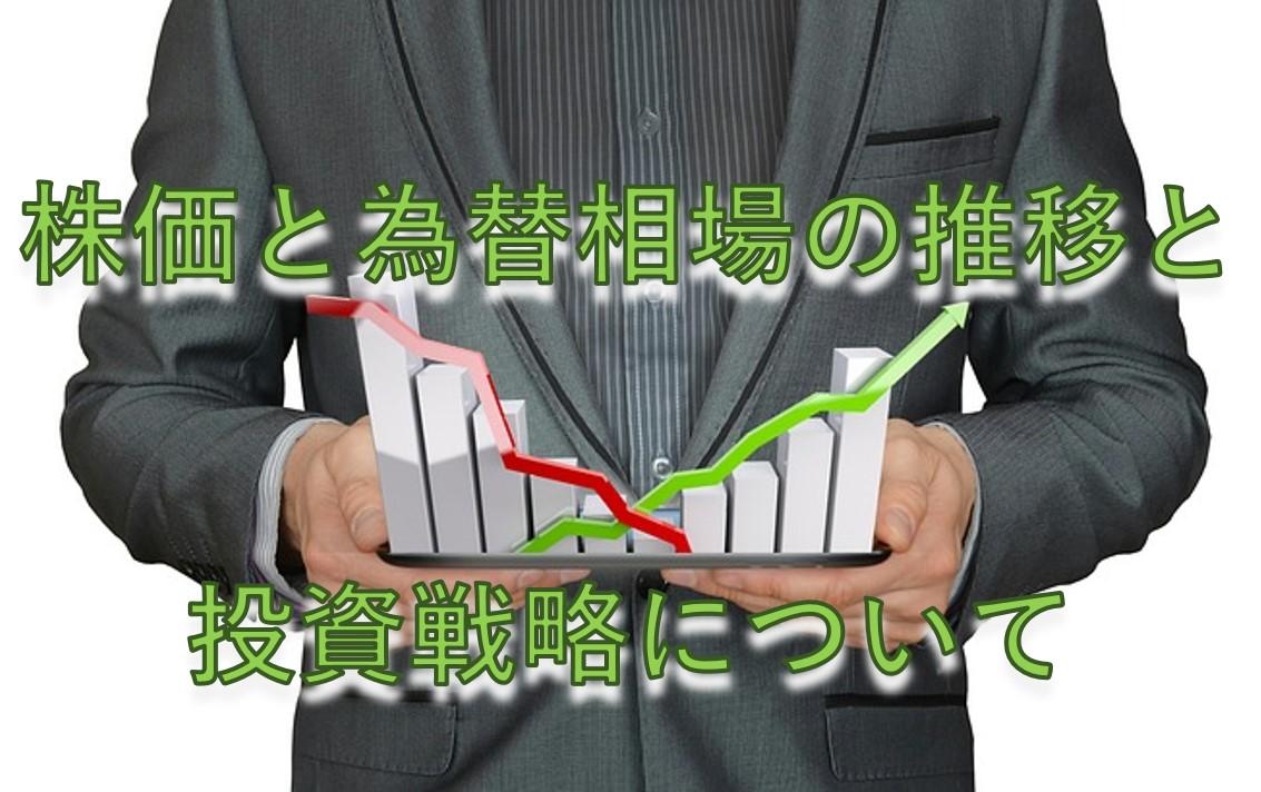 株価と為替相場の推移と投資戦略について
